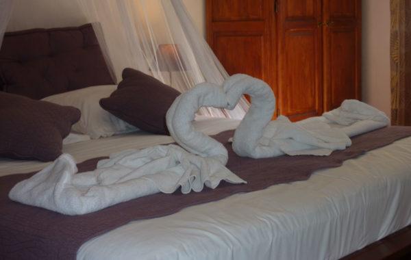 Chambre d'hôtes de charme près de Dieppe : chambre Violette
